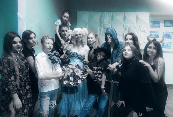 Дитяча вечірка Хеллоуїн