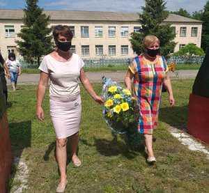 На Лебединщині вшанували пам'ять воїнів Другої Світової війни