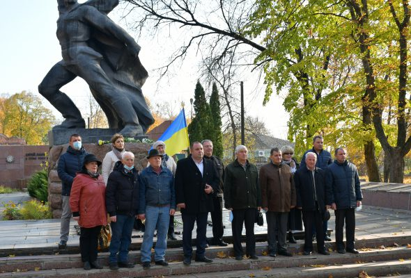 У Кролевці відзначили 76-ту річницю визволення України