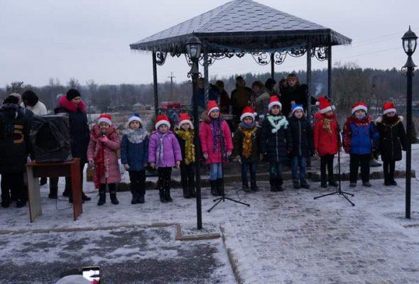 Відкриття Новорічної ялинки у Михайлівці